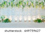 flower background  | Shutterstock . vector #649759627