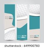 banner template. abstract... | Shutterstock .eps vector #649900783