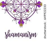 sacred geometry symbol. design... | Shutterstock .eps vector #649922233