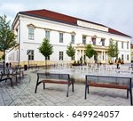 szekesfehervar hungary  may 12  ... | Shutterstock . vector #649924057