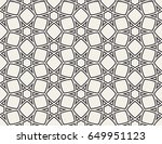 seamless linear pattern with... | Shutterstock .eps vector #649951123