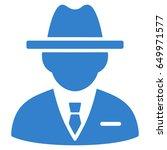 cobalt agent interface toolbar... | Shutterstock .eps vector #649971577