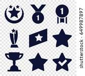 best icons set. set of 9 best...