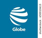vector logo globe | Shutterstock .eps vector #650010613