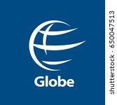 vector logo globe | Shutterstock .eps vector #650047513