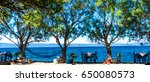 a beautiful sitting place in...   Shutterstock . vector #650080573