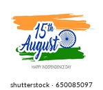 india independence day...   Shutterstock .eps vector #650085097