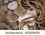 Cork  Rope And Stones