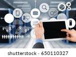 security. | Shutterstock . vector #650110327