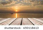 wooden board slope  wooden...   Shutterstock . vector #650118613