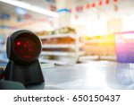 checkout in the supermarket ... | Shutterstock . vector #650150437