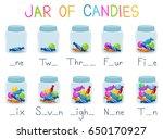 Illustration Of Jars Of Candie...