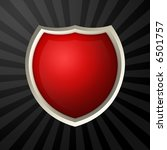 red blank icon | Shutterstock . vector #6501757