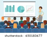 vector illustration in flat... | Shutterstock .eps vector #650183677