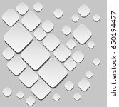 monochrome abstract pattern.... | Shutterstock .eps vector #650194477