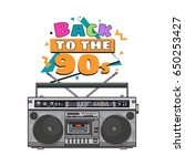 old fashioned  retro style... | Shutterstock .eps vector #650253427