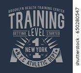 training sport athletic... | Shutterstock .eps vector #650280547