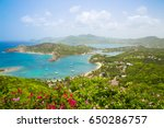 antigua  caribbean islands ... | Shutterstock . vector #650286757
