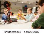 education  children  technology ... | Shutterstock . vector #650289007