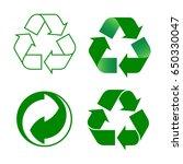 recycling symbols   Shutterstock .eps vector #650330047