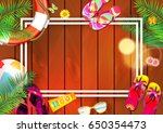 summer | Shutterstock .eps vector #650354473