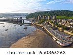 Aerial Image Of Conwy Castle...