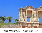 Part Of Facade Of Ancient...