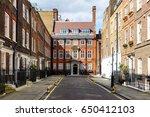 typical street scene in the...   Shutterstock . vector #650412103