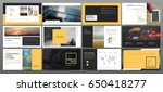 original presentation templates.... | Shutterstock .eps vector #650418277