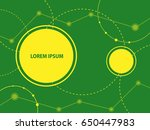 abstract background with... | Shutterstock . vector #650447983