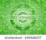 free download green mosaic...