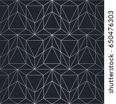 silver texture. seamless... | Shutterstock .eps vector #650476303