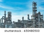 close up industrial view a... | Shutterstock . vector #650480503