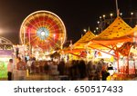 State Fair Carnival Midway...