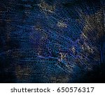 abstract grunge blue background ... | Shutterstock . vector #650576317