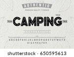 font.alphabet.script.typeface... | Shutterstock .eps vector #650595613