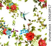 seamless background pattern.... | Shutterstock .eps vector #650618917