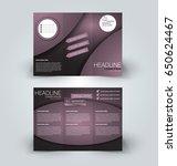 brochure mock up design... | Shutterstock .eps vector #650624467
