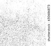 black grainy texture isolated... | Shutterstock .eps vector #650686873