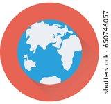 world vector icon   Shutterstock .eps vector #650746057