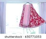 ceremonial in indian wedding ... | Shutterstock . vector #650771053