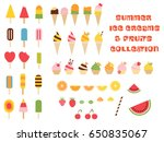 vector colorful graphics ice... | Shutterstock .eps vector #650835067