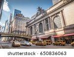 new york   august 25  2014 ...   Shutterstock . vector #650836063