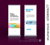abstract business vector set of ... | Shutterstock .eps vector #650840677