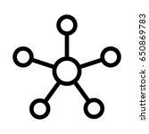 network | Shutterstock .eps vector #650869783