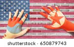 international relations concept ... | Shutterstock . vector #650879743