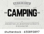 font.alphabet.script.typeface... | Shutterstock .eps vector #650893897