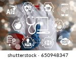 innovative technologies... | Shutterstock . vector #650948347