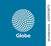 vector logo globe | Shutterstock .eps vector #650953873