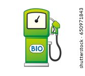 green bio fuel pump isolated.   Shutterstock .eps vector #650971843